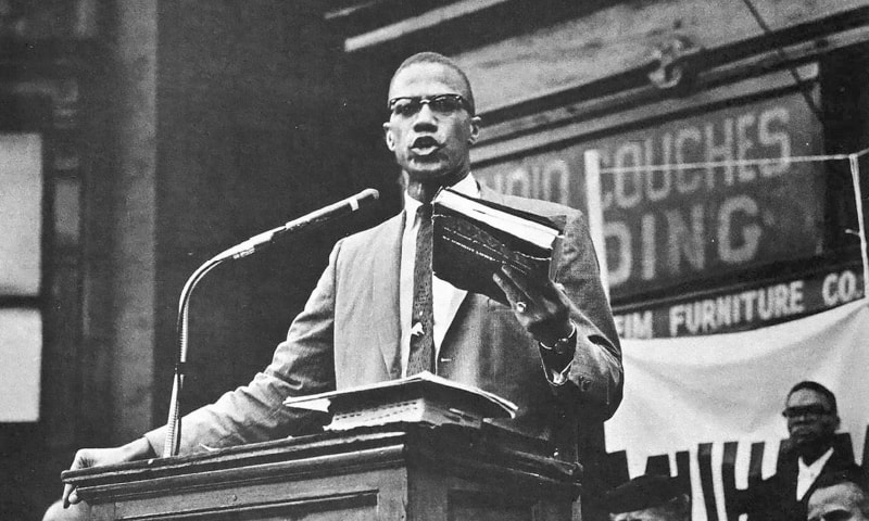 Malcolm X  rose from criminality to become one of the most eloquent and captivating orators of the modern era