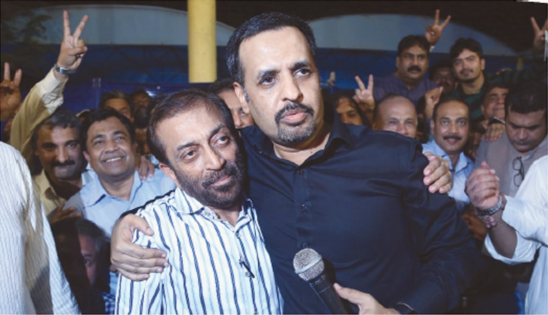 If facial expressions can speak a thousand words, then Farooq Sattar's face revealed an anxiety over Mustafa Kamal's demand of removing the existence of the MQM altogether