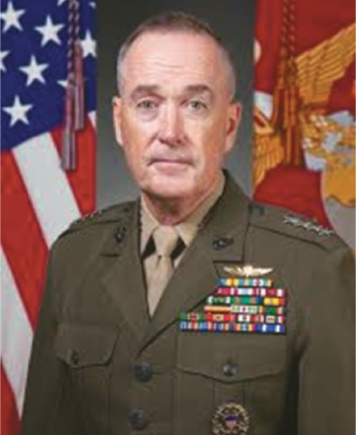 Joint Chiefs of Staff Chairman Gen Joseph Dunford will arrive in Islamabad early next week.