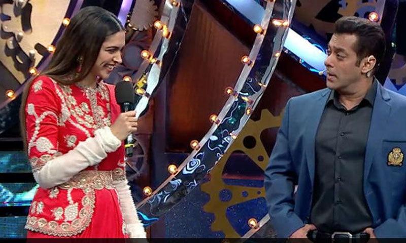 اداکارہ نے سلمان خان کے سوالات کے جوابات بھی دیے—اسکرین شاٹ