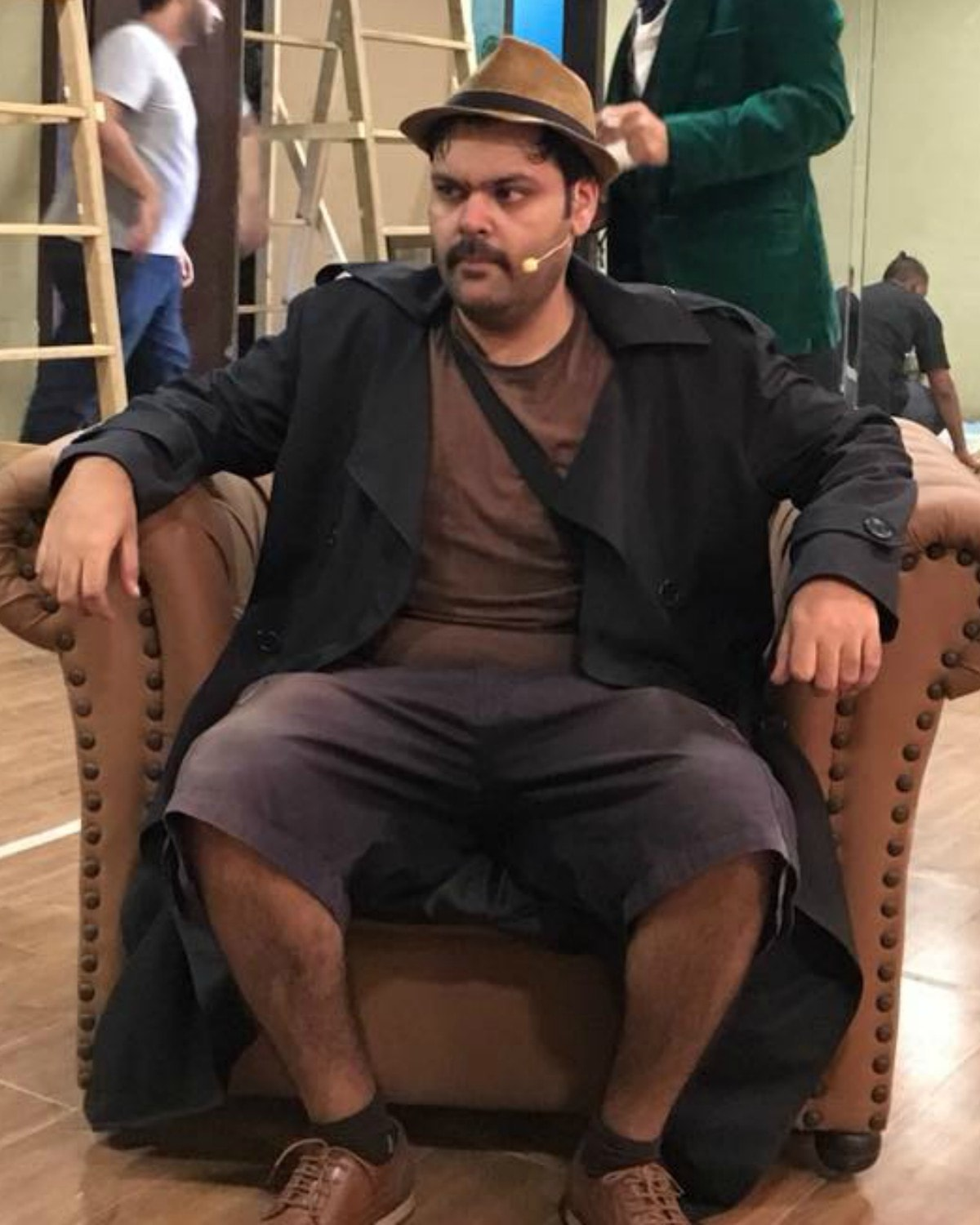 Faraz Lodhi is the only actor to play one character, i.e. the protagonist, in The 39 Steps
