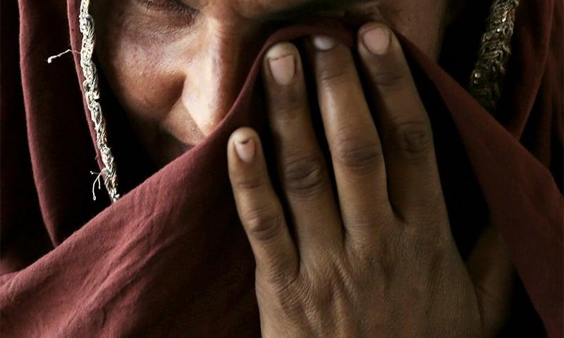 Saima* recounts the ordeal of her son in Kehror Pakka, Pakistan. ─ AP