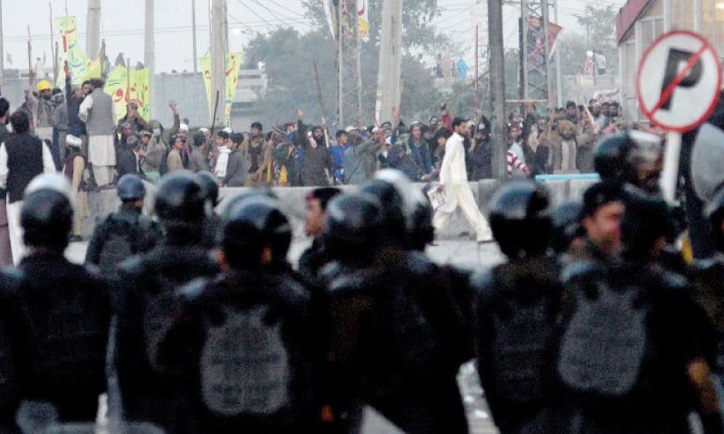 Another day, another clash at Faizabad