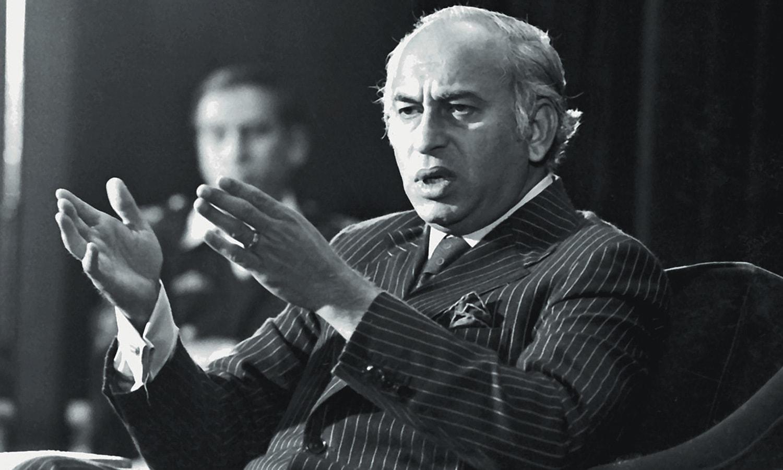 ذوالفقار علی بھٹو — فوٹو: ڈان