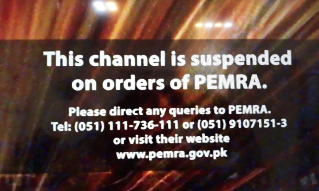 News channels go off air, Facebook and YouTube blocked in