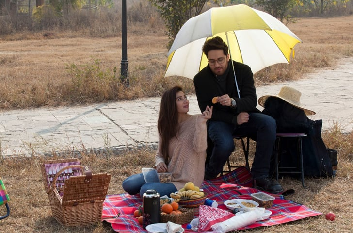 Haroon Shahid and Mahira Khan play a couple whose marriage is strongly tested during the film