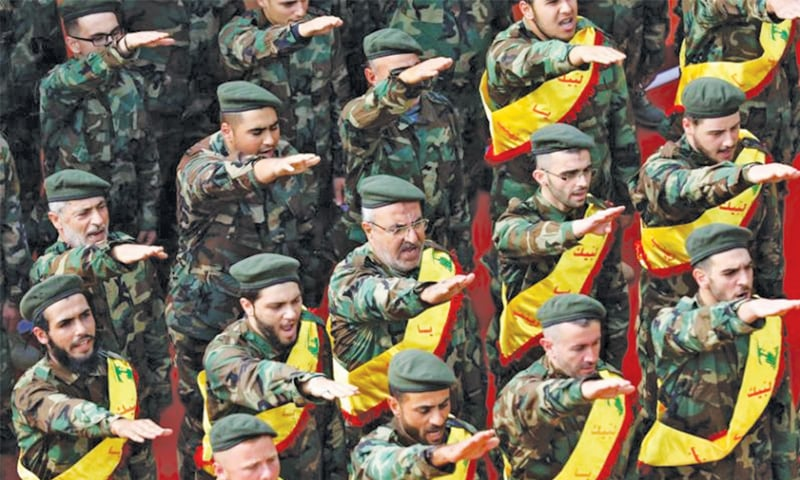 Hezbollah, on the rise in Lebanon, fends off Saudi Arabia