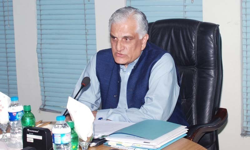 Zahid Hamid. — Photo courtesy: Pakistan Council for Science and Technology.