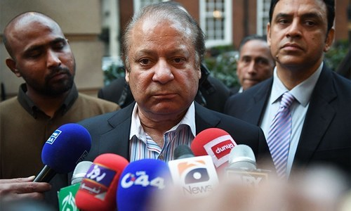 Nawaz Sharif 'unhappy' with handling of Faizabad sit-in