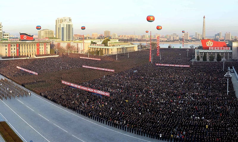 Image result for North Korea holds mass celebrations for latest missile test