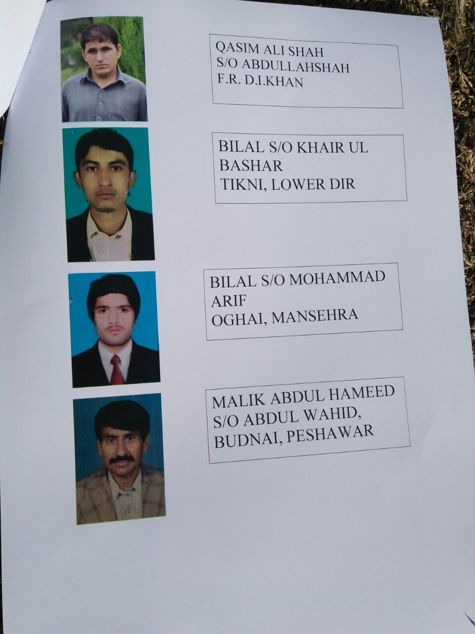 List of slain students of ATI attack (2).