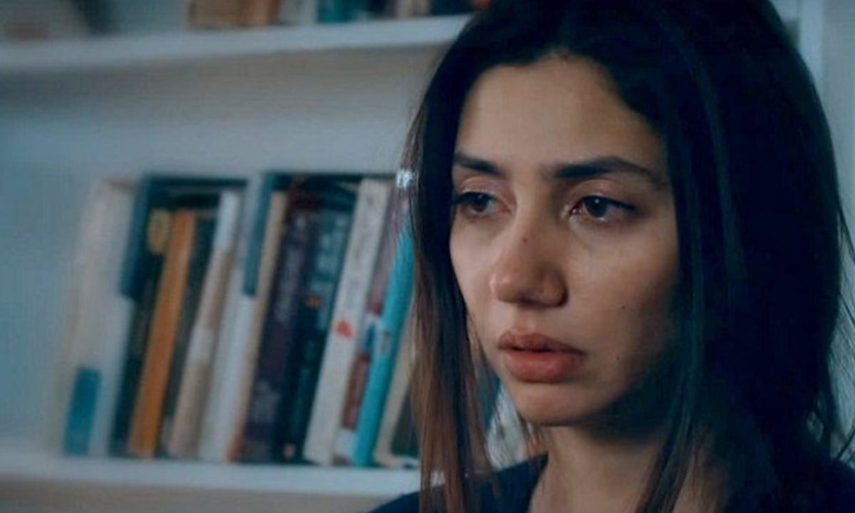 Mahira Khan, in a still from Verna