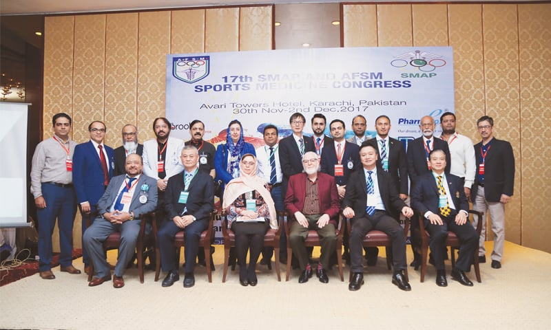 Foreign experts hail Pakistan's role in sports medicine