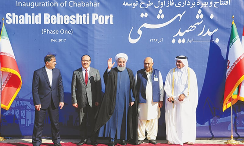 Iran opens $1bn project to expand Chabahar port