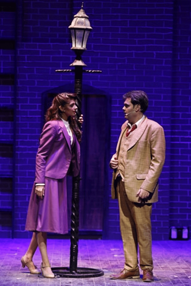 Sanam Saeed and Faraz Lodhi in The 39 Steps