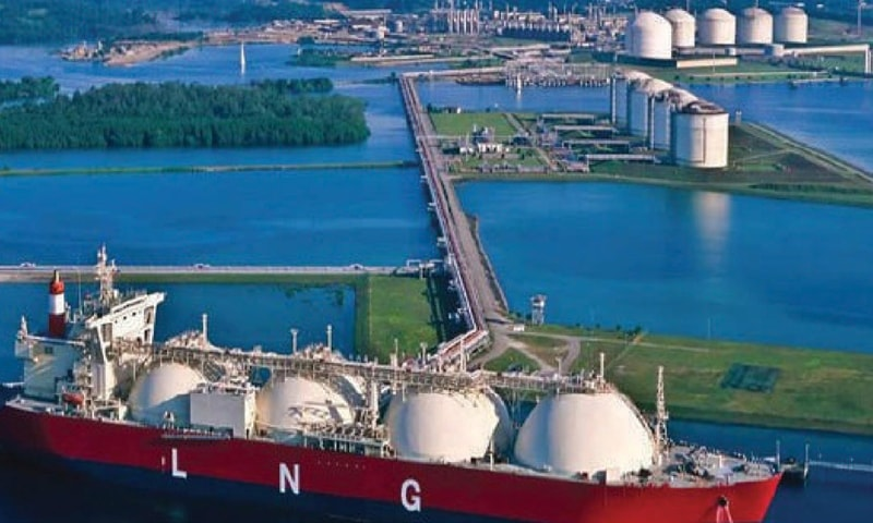 Engro's Elengy Terminal has the capacity to re-gasify 600 million cubic feet per day of LNG.—File