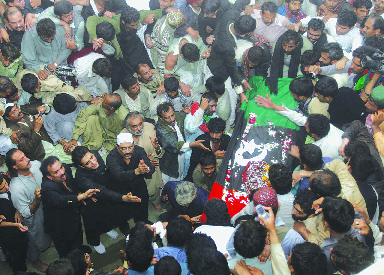 THE burial of Benazir Bhutto at Garhi Khuda Bakhsh was an emotionally draining moment not just for the PPP supporters but for people across the land. It triggered the sympathy wave which produced tangible results in the elections that were held not much later.