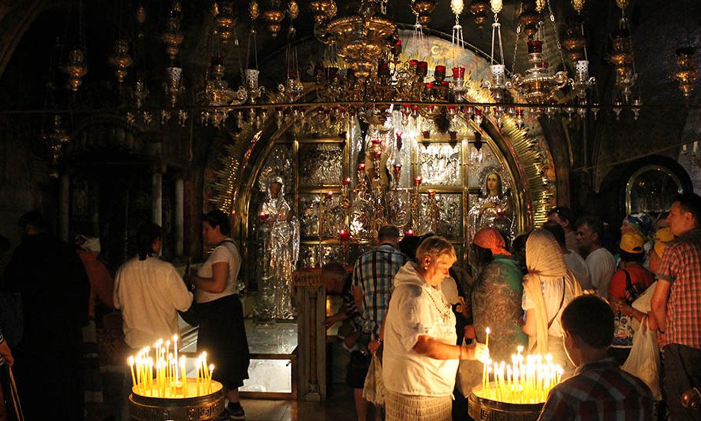 مسیحیوں کا سب سے مقدس کلیسائے مقبرہ مقدس بھی یہاں ہے—فوٹو:ٹوئر یوئر وے ڈاٹ کام