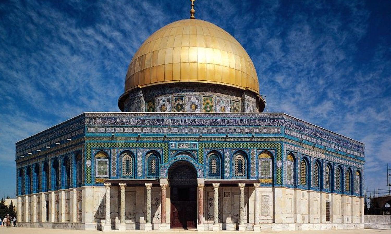 مسلمانوں کے لیے مقدس مسجد الاقصیٰ بھی اس شہر میں موجود ہے—فوٹو: ہیکساپولس