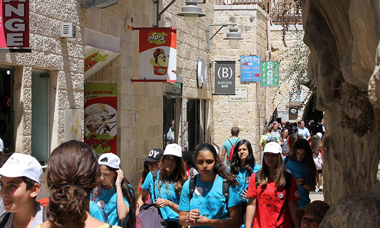 بیت المقدس میں سیاحوں کا بھی رش لگا رہتا ہے—ٹوئر یوئر وے ڈاٹ کام