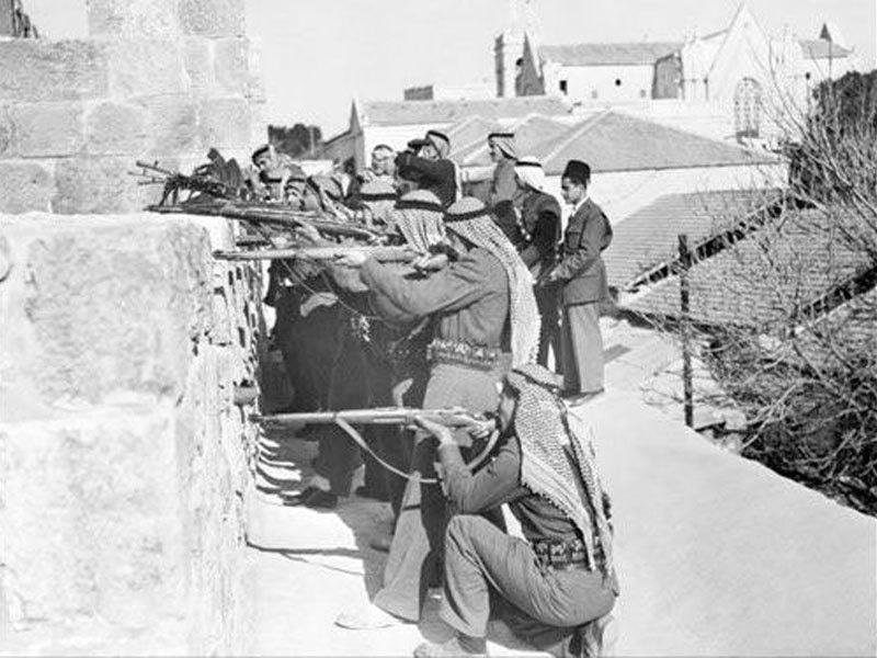 1948 میں پہلی عرب اسرائیل جنگ لڑی گئی—فوٹو: یروشلم ہسٹری بلاگ پوسٹ