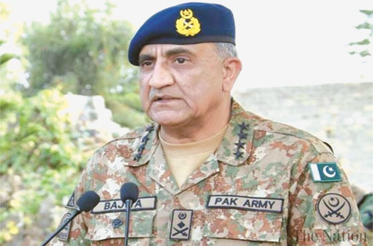 The army chief recalls he had proposed to the ousted prime minister to send more experienced bureaucrats to serve in Balochistan and take the province out of the darkness of backwardness.