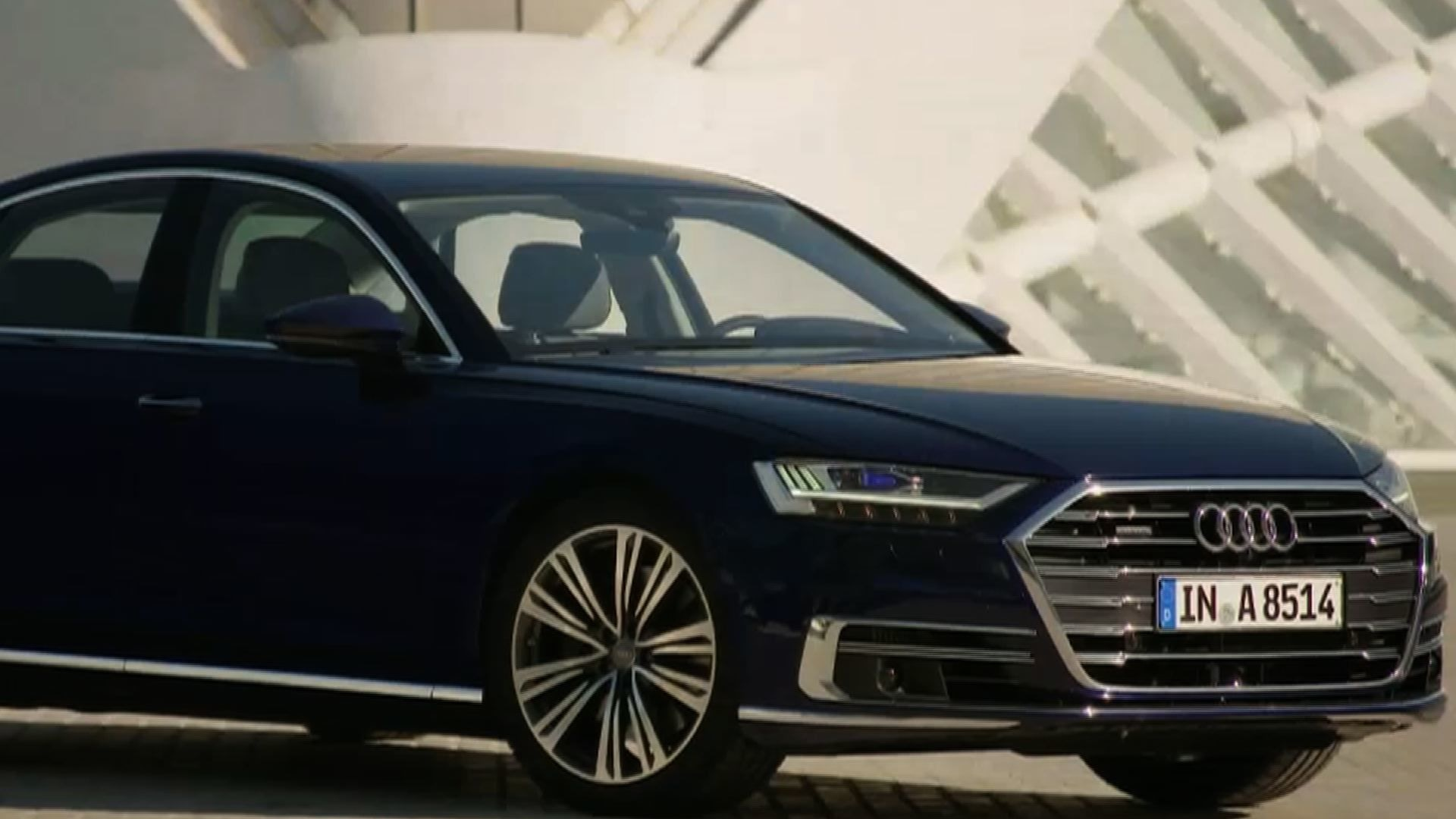 The Audi A8's innovative new features put safety first - World