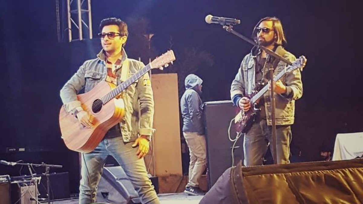 The Pindi Boys, who were favourites in the recent Pepsi Battle of the Bands, also performed at Art Langar