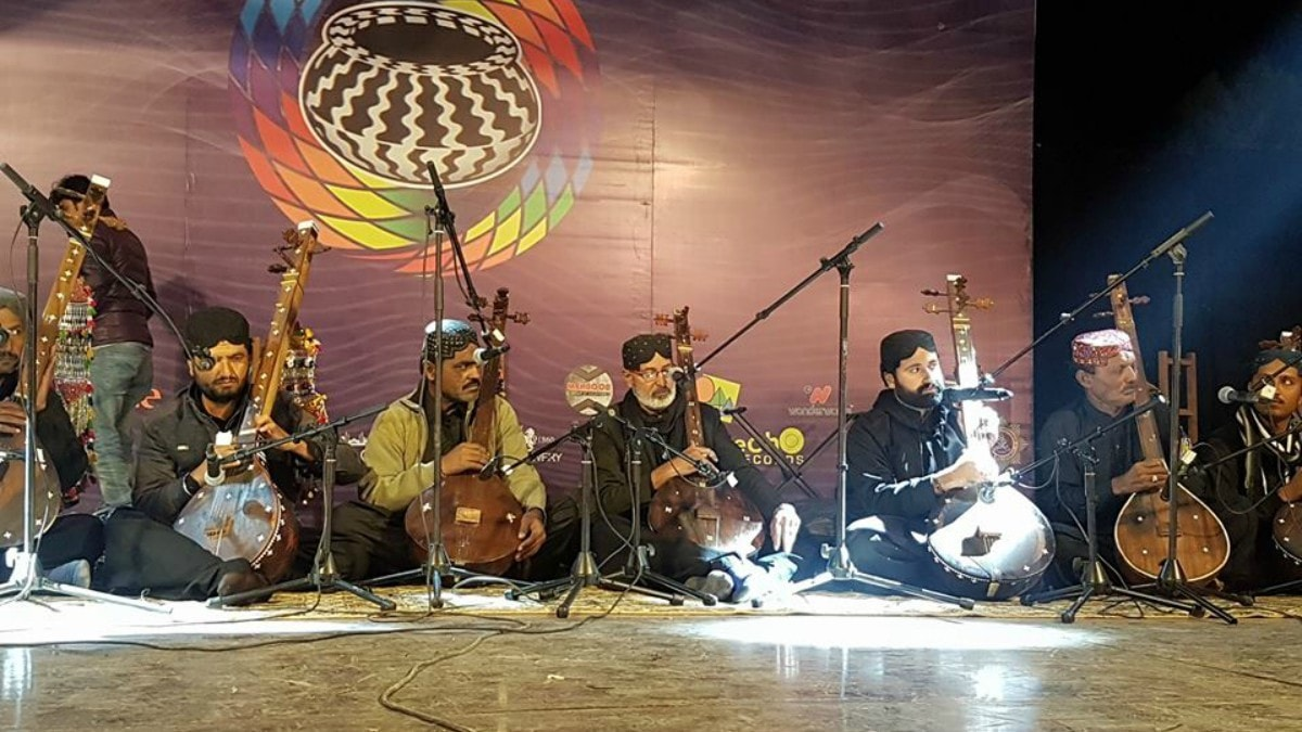 The festival kicked off with Shah Jo Raag Fakirs of Bhit Shah