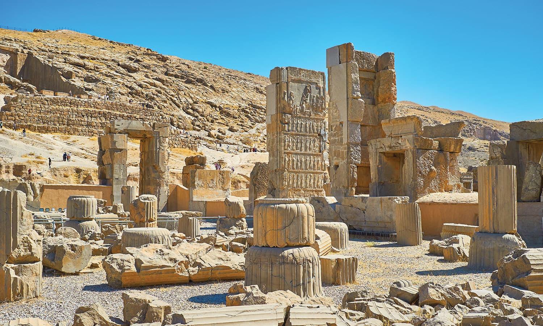 پرسیپولس، یعنی 'پارسیوں کا شہر'—فوٹو: شٹر اسٹاک