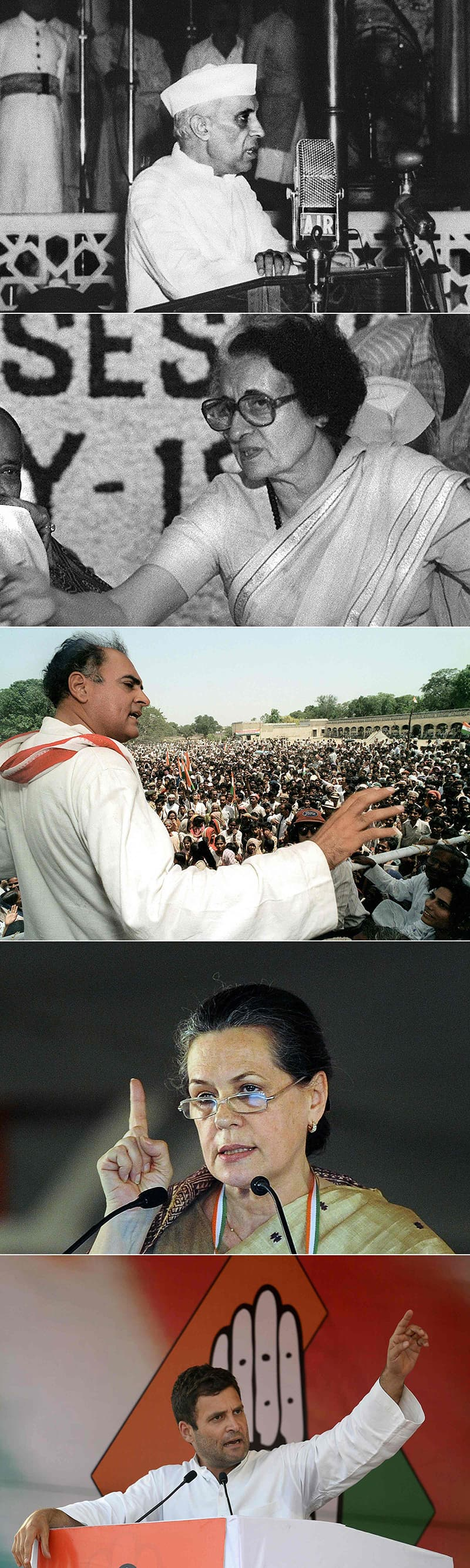 Rahul Gandhi named president of India'