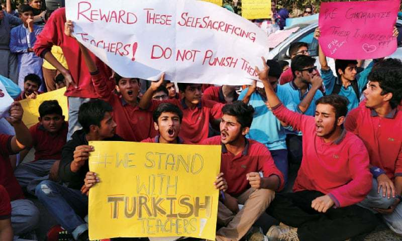 Senate committee orders government to submit details of deported Turkish teachers