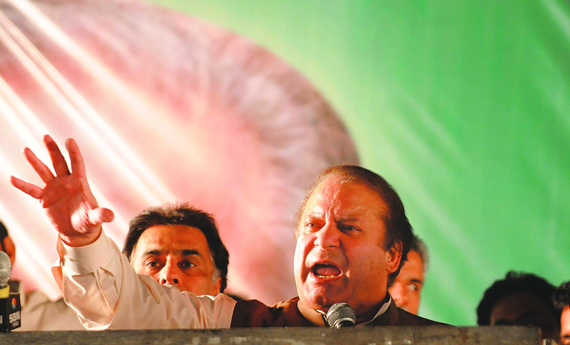 NAWAZ continued to blow hot and cold over his ouster, playing the 'popularity' card, but had little relief as his party prepared for the general elections.