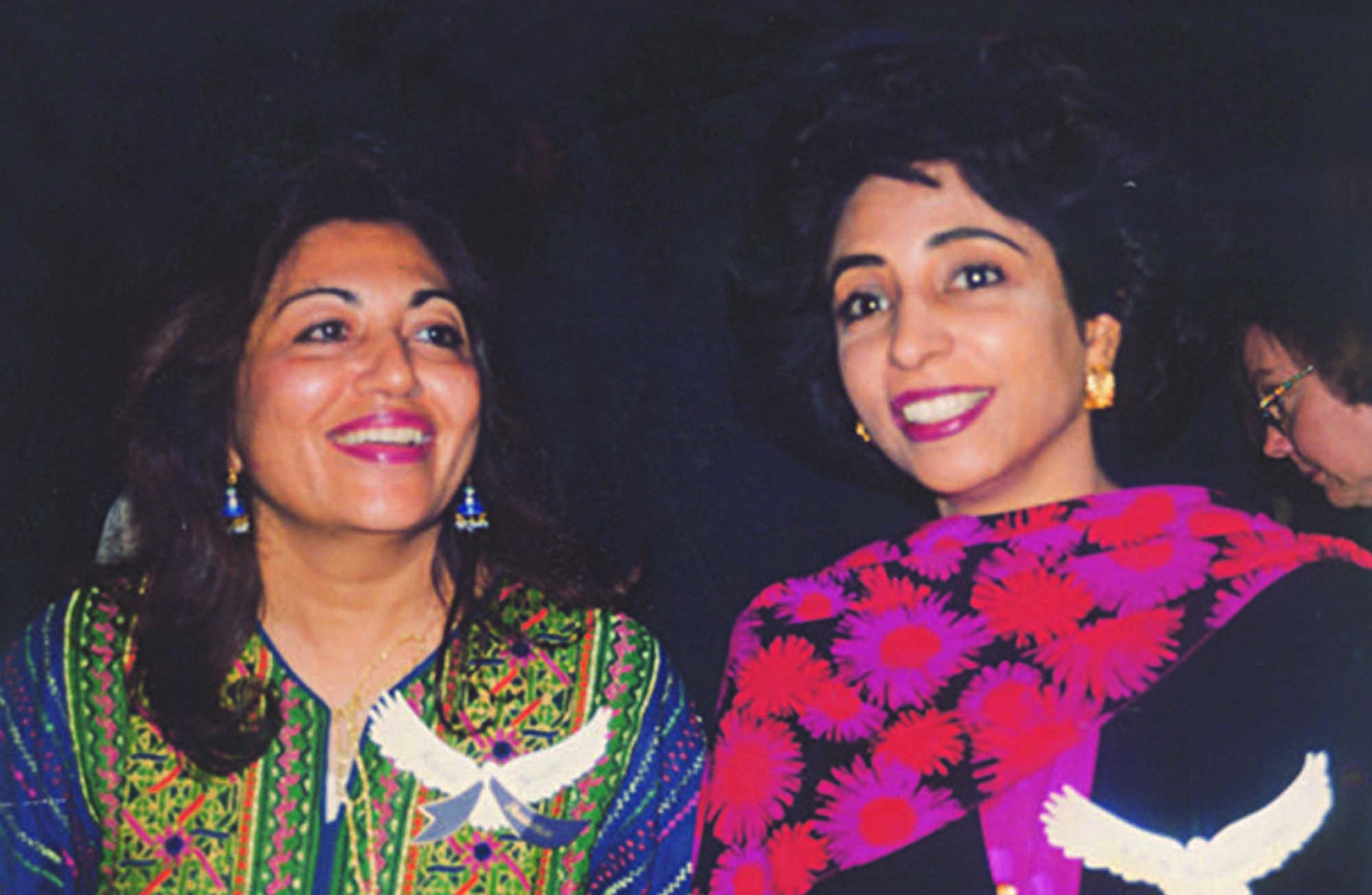 To many of them, Razia Bhatti (left) and Maleeha Lodhi are figures to emulate.