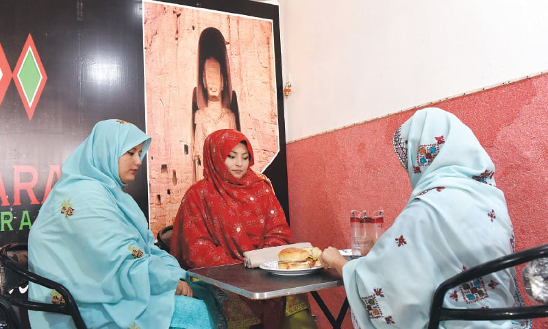 Hamida's restaurant provides a safe environment for women