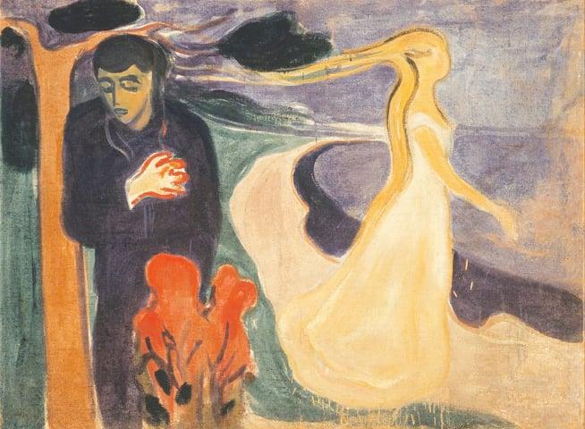 'Separation' by Edvard Munch | Public Domain