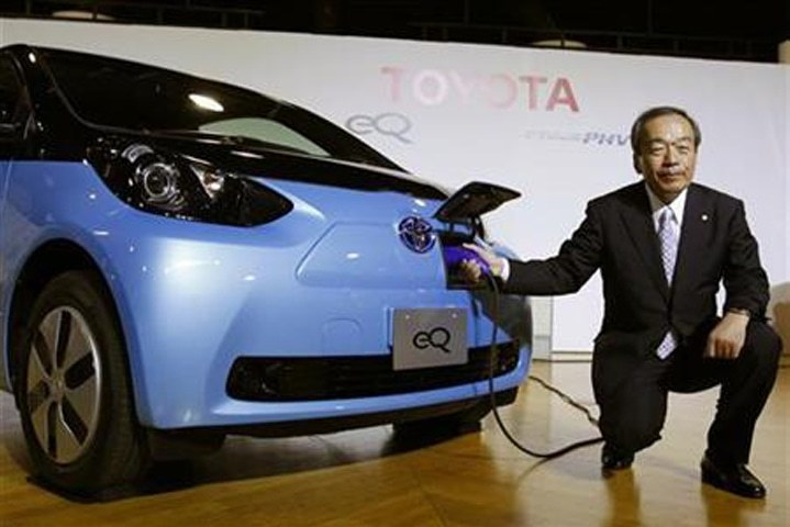 Toyota planning 10 purely electric vehicles by early 2020s