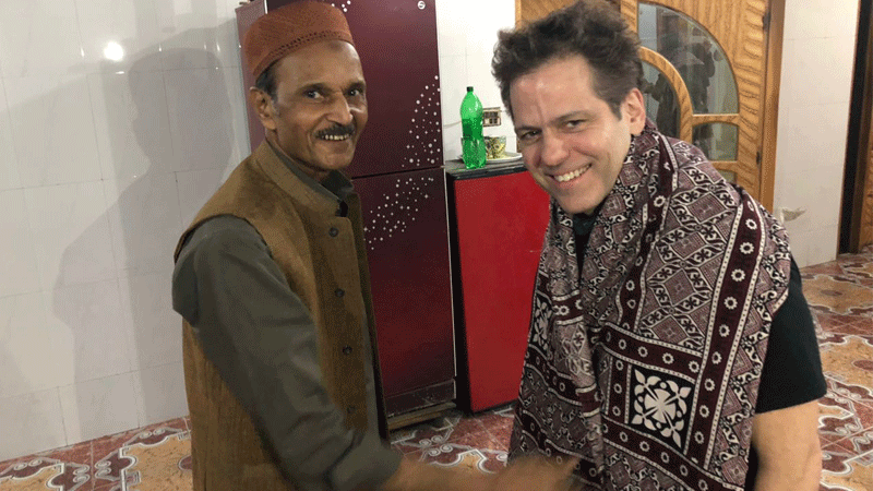 Ustad Saami and Ian Brennan