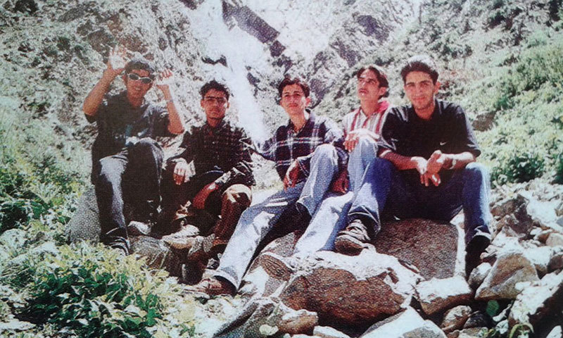 Army Public School students on a field trip from the yearbook for the academic year 1999-2000. —Photo by author