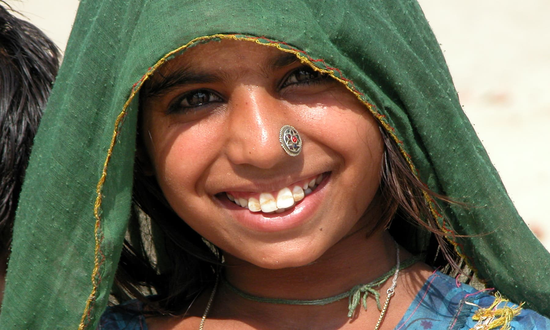 ایک تھری لڑکی —تصویر عبیداللہ کیہر