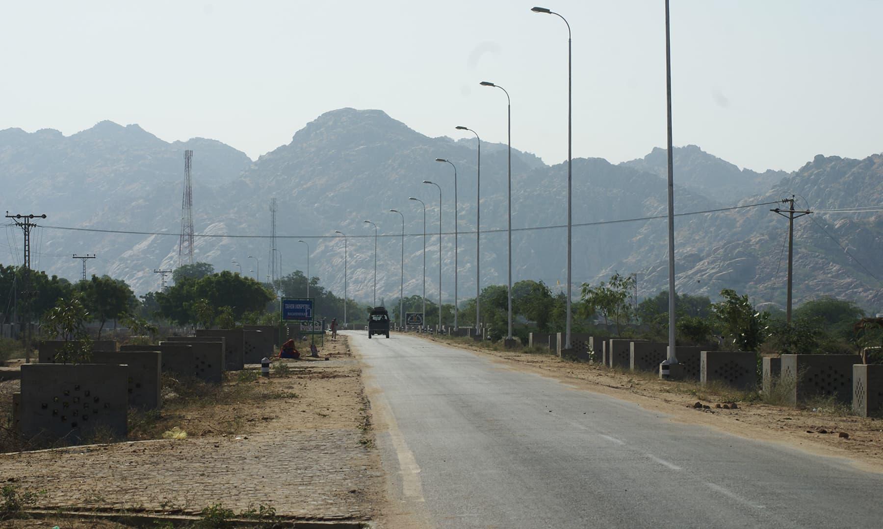 کارونجھر پہاڑ —تصویر عبیداللہ کیہر