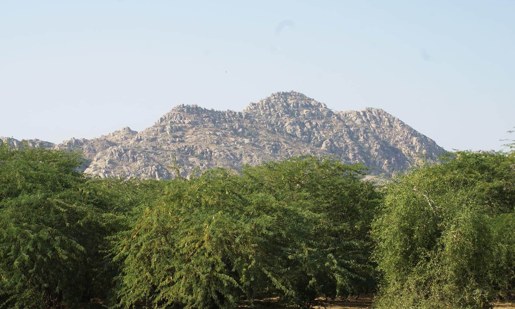 ننگر پارکر میں کارونجھر پہاڑ—تصویر عبیداللہ کیہر