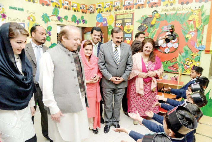 The education reforms programme was initiated by former prime minister Nawaz Sharif in Dec 2015 for the upgrading of all 423 educational institutions. — File photo