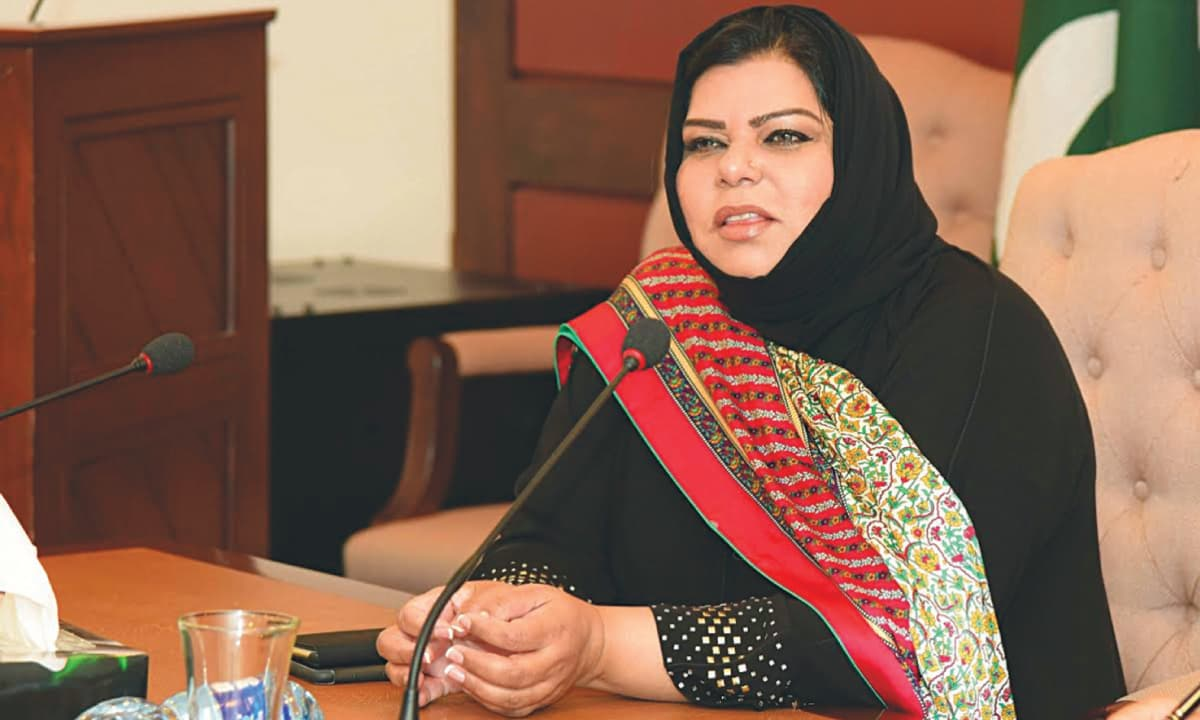 Senator Sehar Kamran of the Pakistan Peoples Party | seharkamran.com