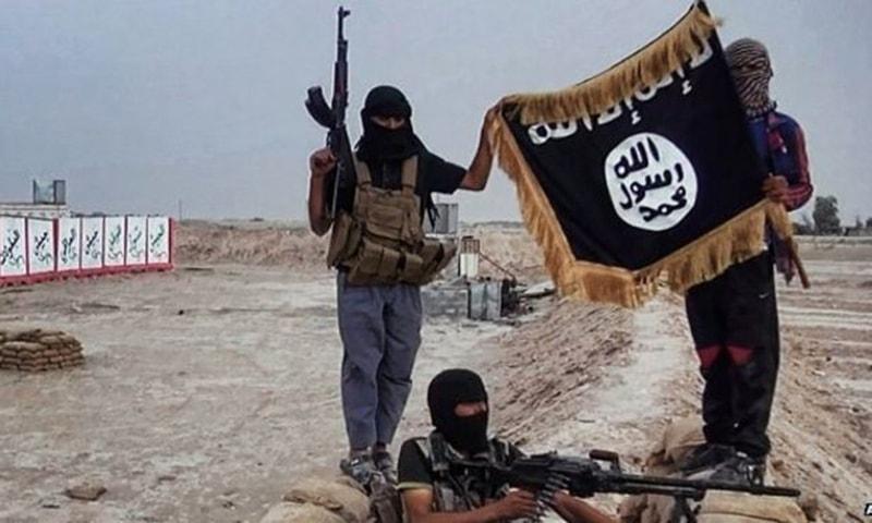 دولت اسلامیہ کے جنگجو—اے ایف پی