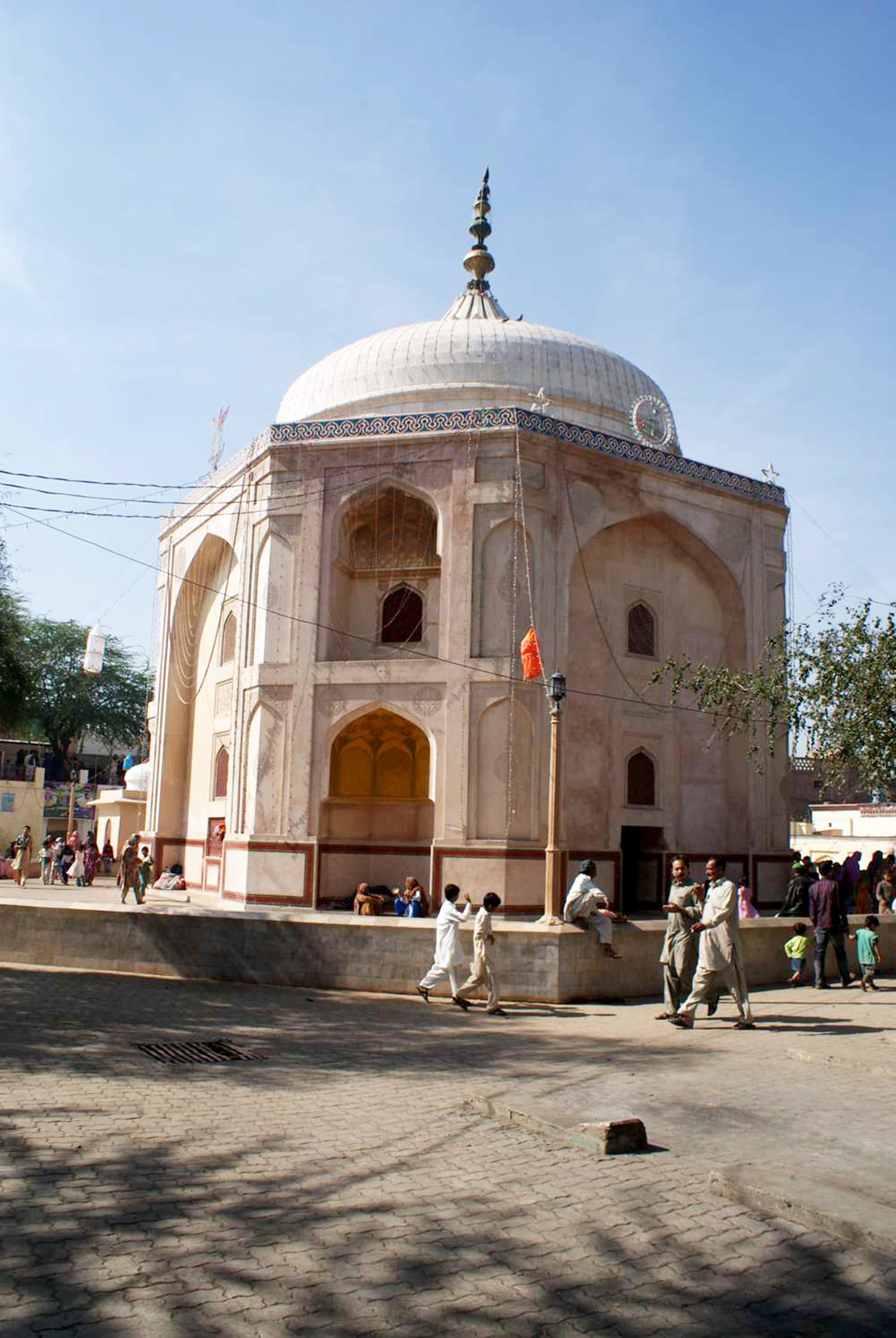 The mausoleum of Daud Bandagi. -All photos by author