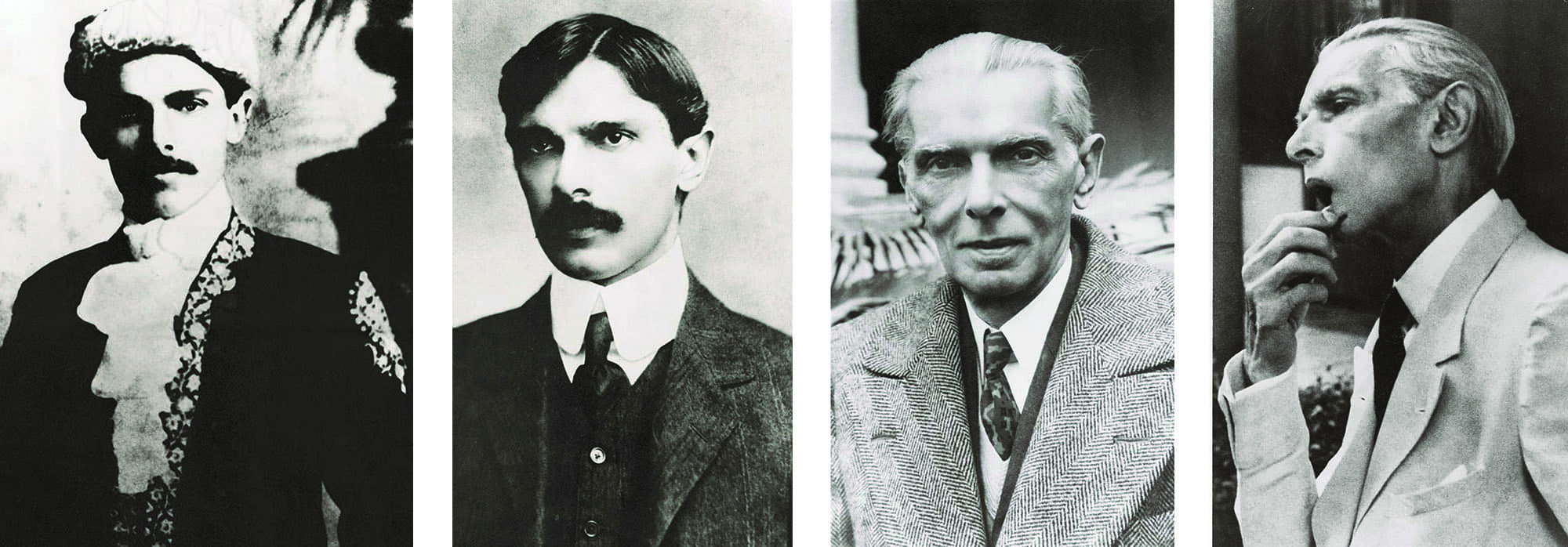 Mr Jinnah was always aesthetically dressed whether he was wearing a traditional attire, a three-piece suit during his early years as a young lawyer in Bombay, even when caught unawares on camera during a contemplative moment wearing a white suit, or in an overcoat during the Simla Conference.