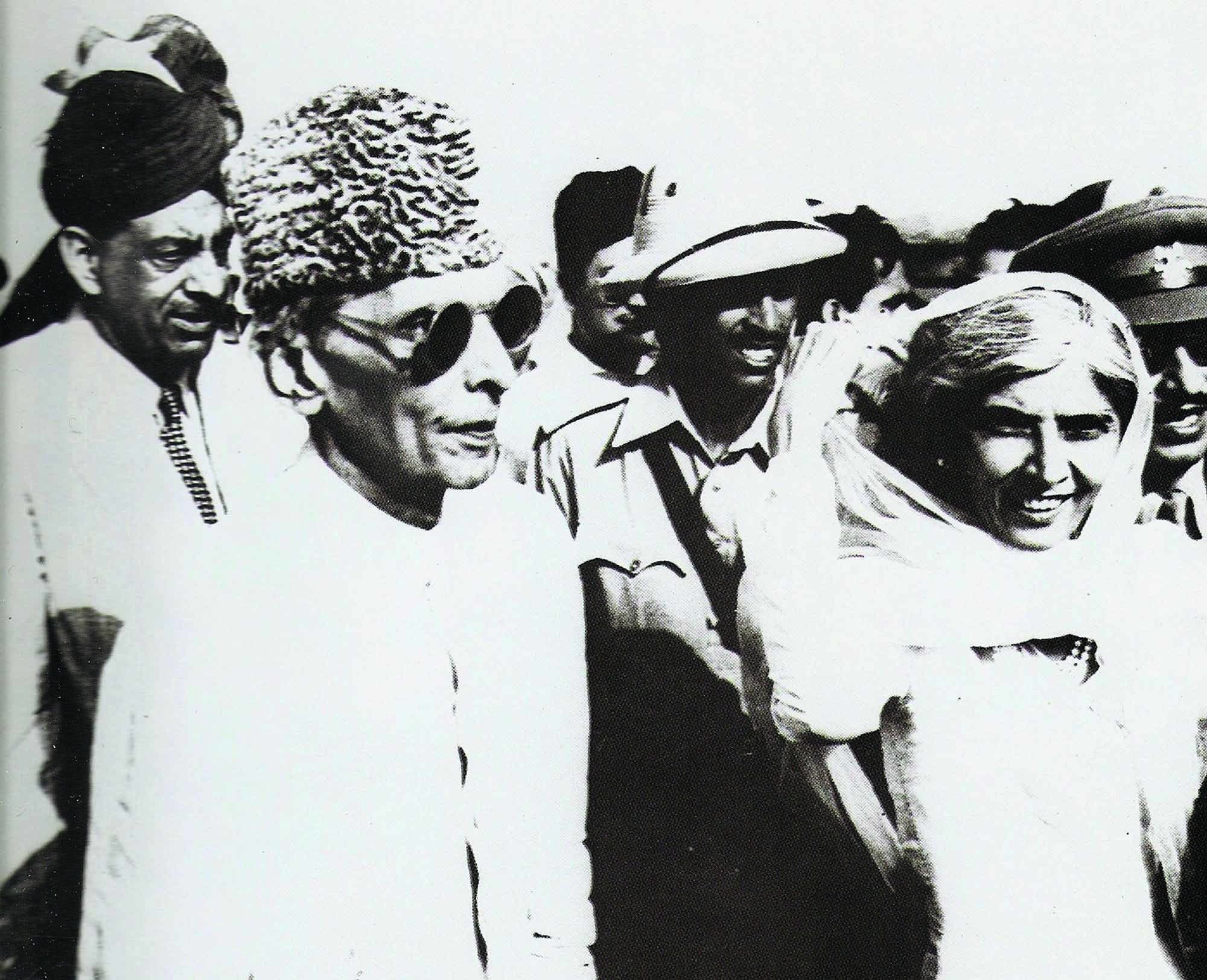 APPROACHING INDEPENDENCE: Mr Jinnah and Miss Fatima Jinnah arrived in Karachi on August 7, 1947. A week later, Pakistan came into being after years of struggle on August 14, 1947.| Photo: PID.