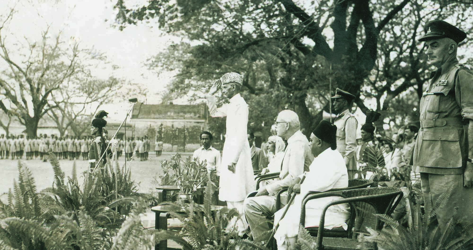 "QUAID-I-AZAM Mohammad Ali Jinnah during his last visit to Dhaka, then East Pakistan. It was during this trip that he declared, at a mammoth public gathering on March 21, 1948, ""Having failed to prevent the establishment of Pakistan ... the enemies of Pakistan have turned their attention to disrupting the state by creating a split among the Muslims of Pakistan... If you want to build up yourself into a nation, for God's sake give up this provincialism."" 