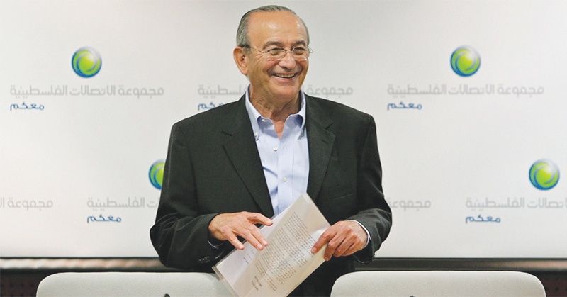 PALESTINIAN billionaire Sabih al-Masri, who returned to Jordan earlier this week after his release in Saudi Arabia.—Reuters